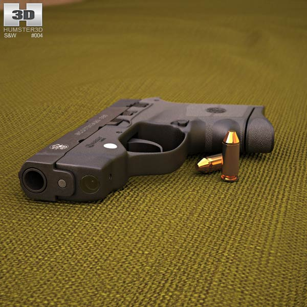 Smith & Wesson Bodyguard 380 3d model