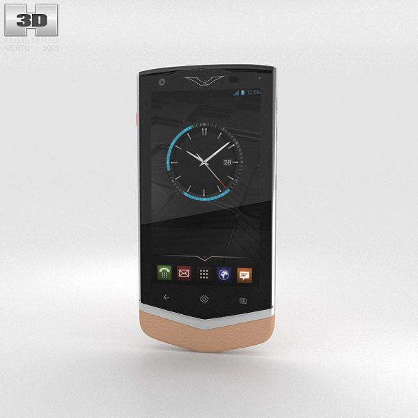 Vertu Constellation 2013 Cappuccino 3d model