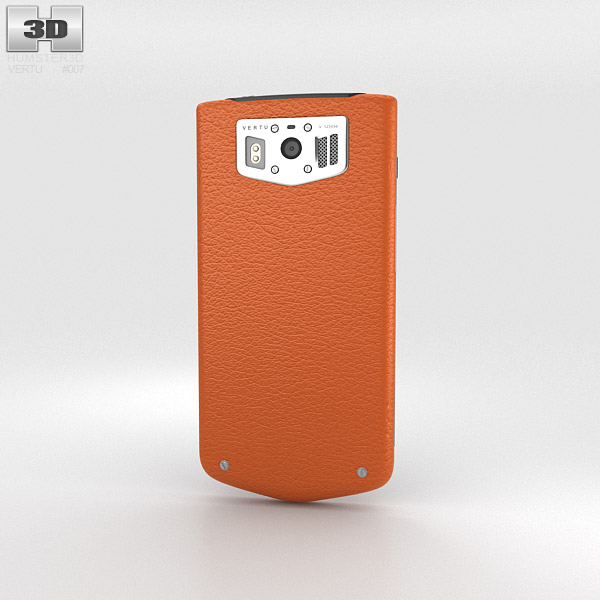 Vertu Constellation 2013 Orange 3d model