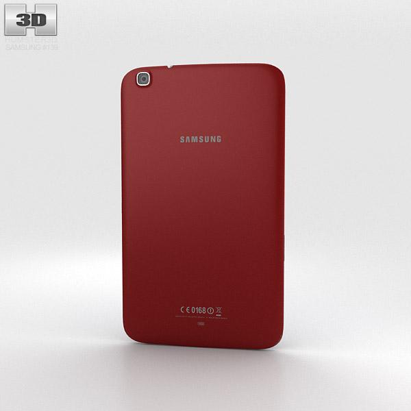 Samsung Galaxy Tab 3 8-inch Red 3d model