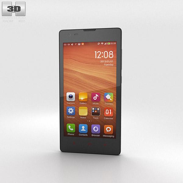 Xiaomi Hongmi White 3d model
