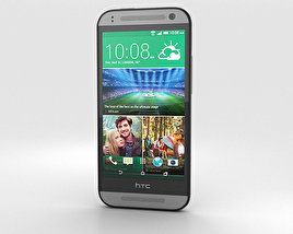 HTC One Mini 2 Gunmetal Gray 3D model