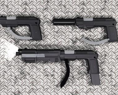 M3K4-DK1 Hand Gun