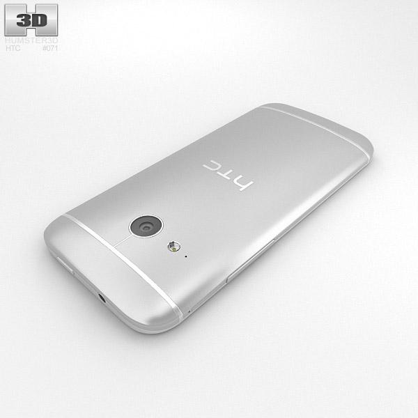 HTC One Mini 2 Glacial Silver 3D model - Hum3D