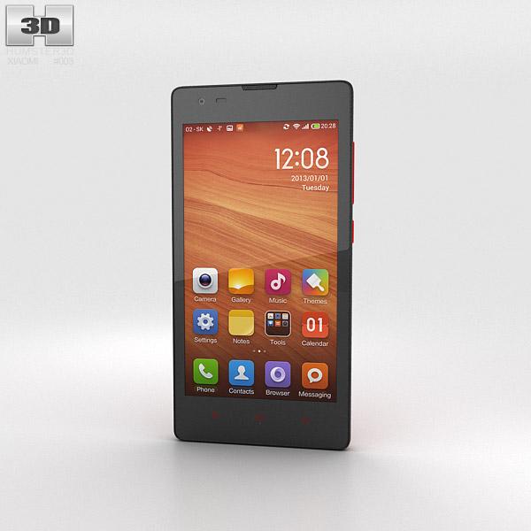 Xiaomi Hongmi Red 3d model