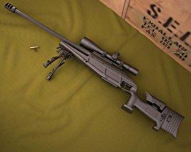 Blaser R93 LRS2 3D model
