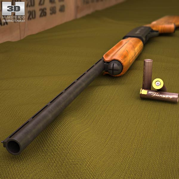 Remington Model 870 3d model