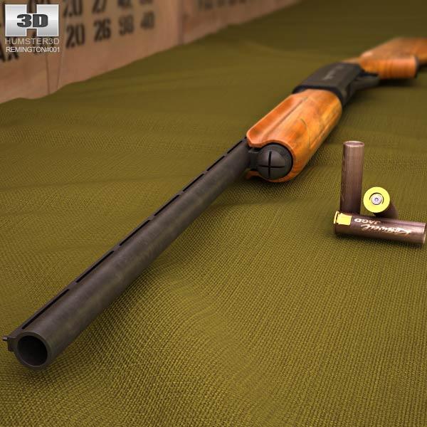Remington Model 870 3d model