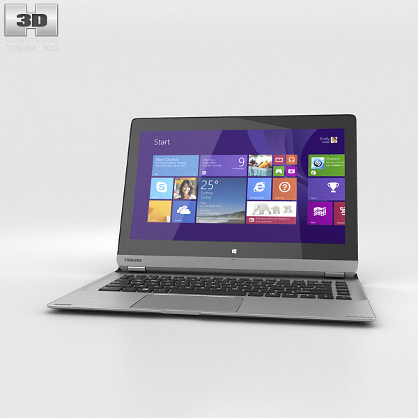 Toshiba Satellite P30W 3d model
