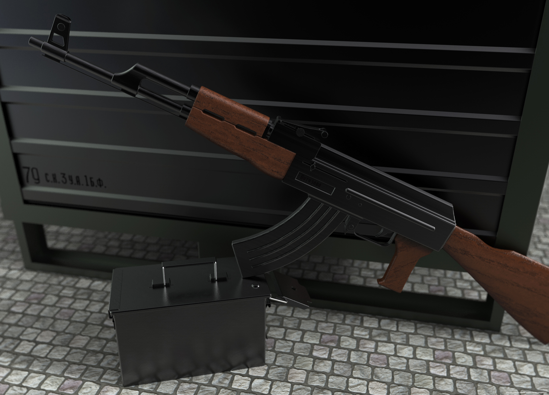 Kalashnikov by Lars Urfer