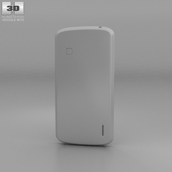 Google Nexus 4 White 3d Model Hum3d