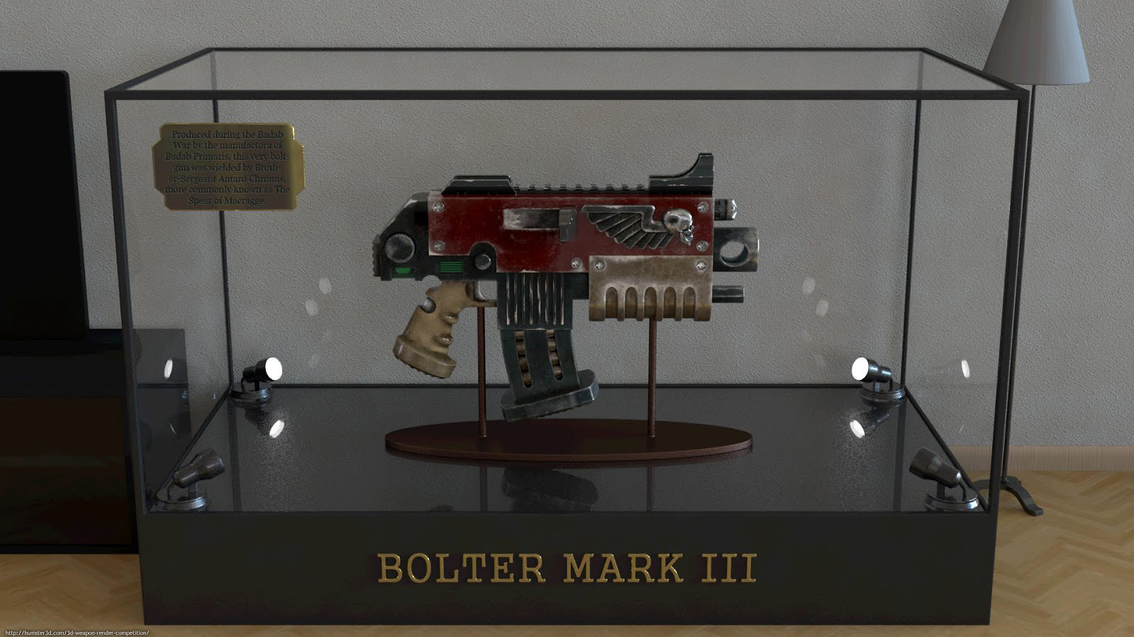 Bolter Mark III 3d art