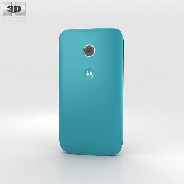 Motorola Moto E Turquoise & Black 3d model