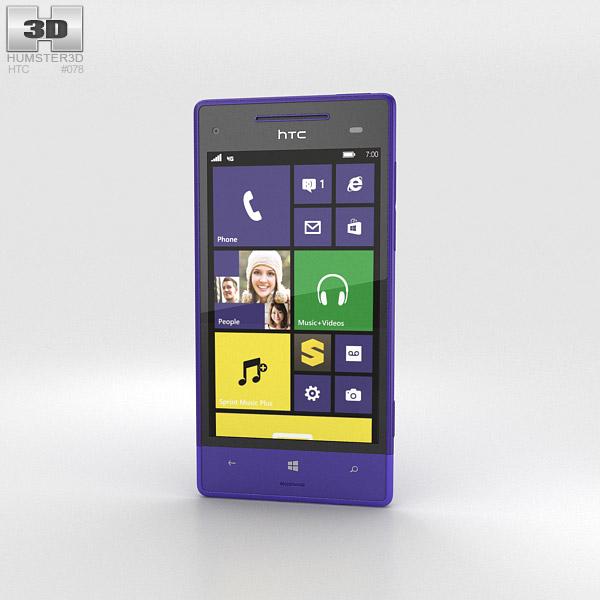 HTC 8XT Violet 3d model