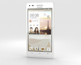 Huawei Ascend P7 Mini White 3D model