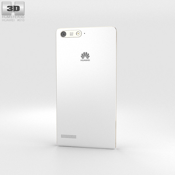 Huawei Ascend P7 Mini White 3d model