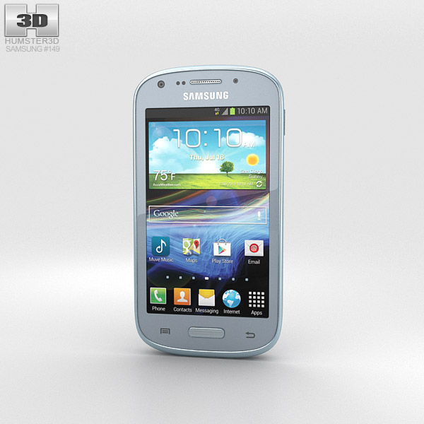 Samsung Galaxy Admire 2 (Cricket) 3d model
