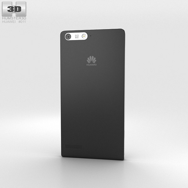 Huawei Ascend P7 Mini Black 3d model