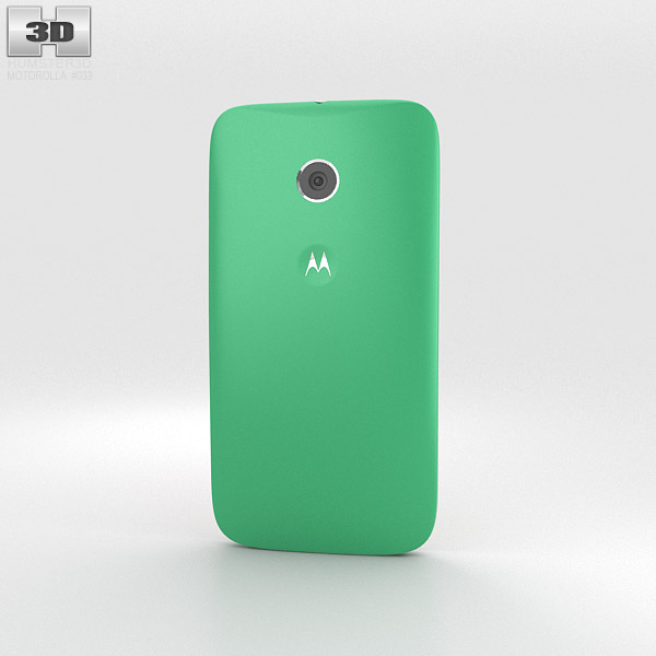 Motorola Moto E Spearmint & White 3d model
