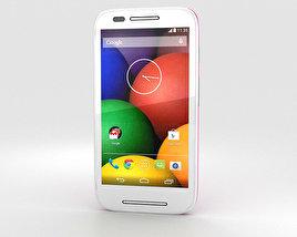 Motorola Moto E Raspberry & White 3D model