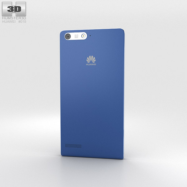 Huawei Ascend G6 Blue 3d model