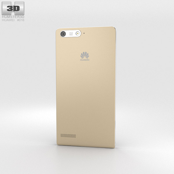 Huawei Ascend G6 Gold 3d model