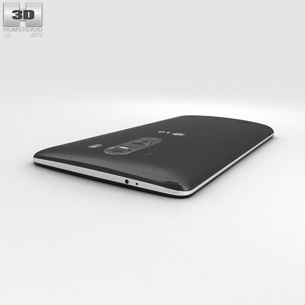 LG G3 Metallic Black 3D model - Hum3D