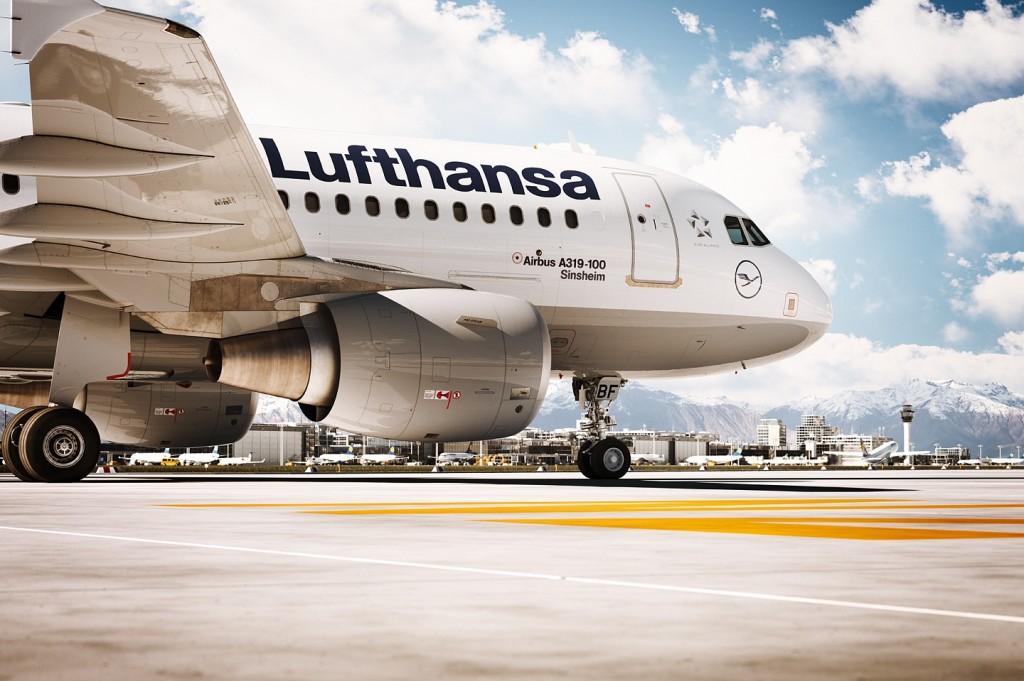 Lufthansa A319 Airfield