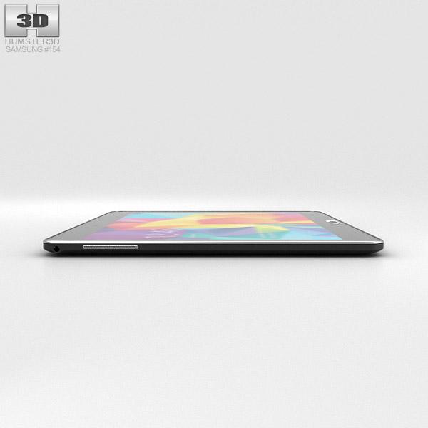 samsung galaxy tab 4 10 1 inch lte black 3d model hum3d. Black Bedroom Furniture Sets. Home Design Ideas