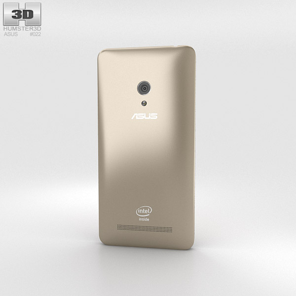 Asus Zenfone 5 Champagne Gold 3d model