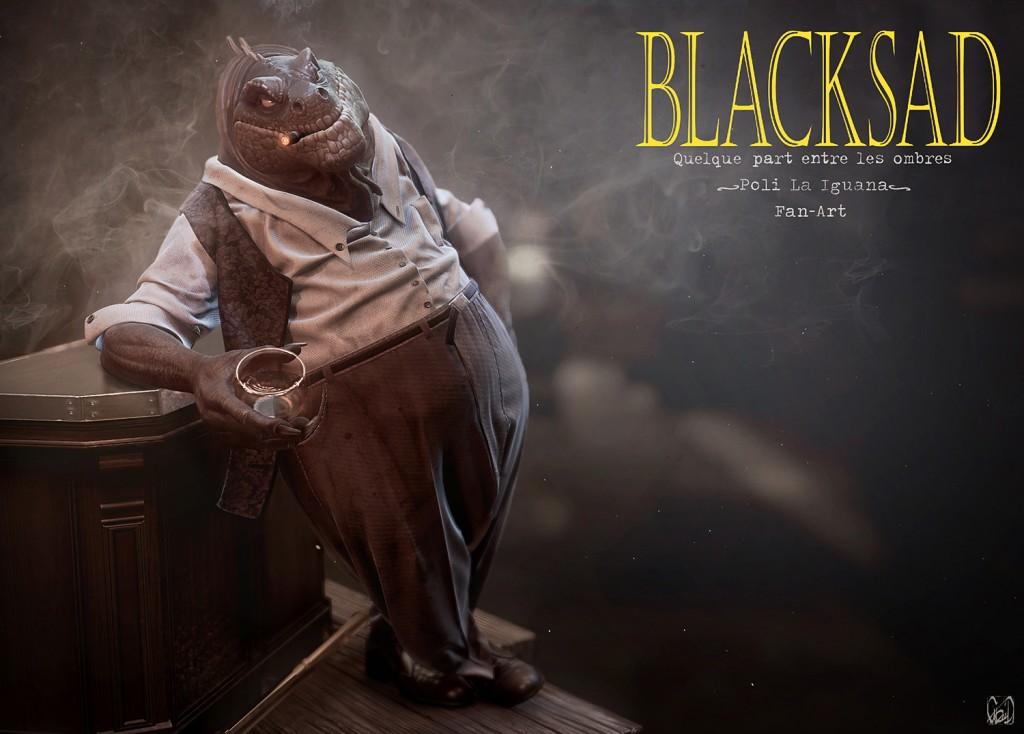 Poli La Iguana, Blacksad Fan Art
