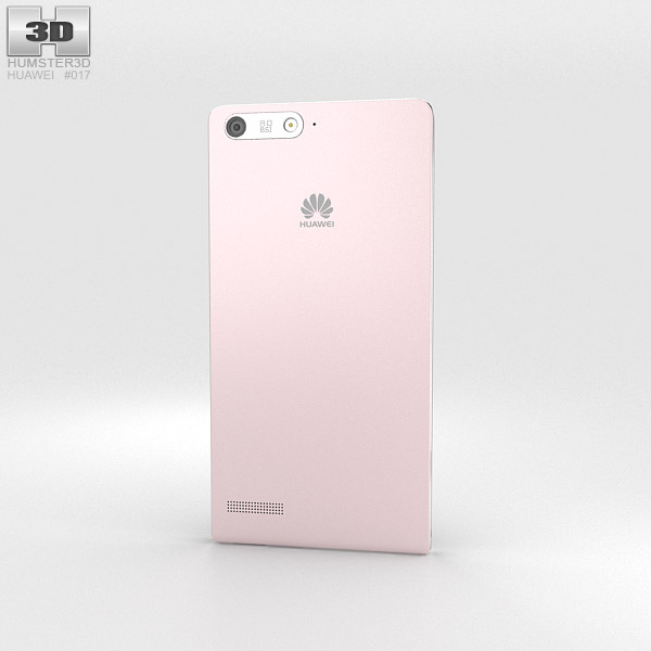 Huawei Ascend G6 Pink 3d model