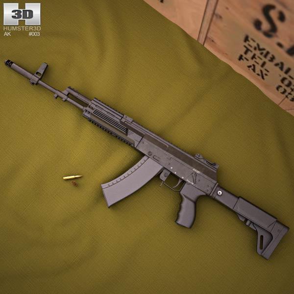 AK-12 3d model