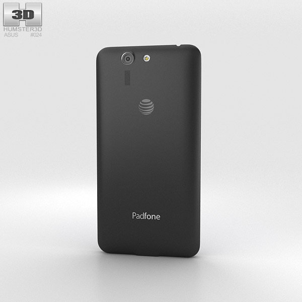 Asus PadFone X Titanium Black 3d model