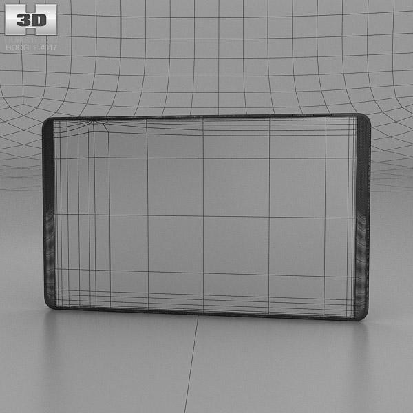 Google Project Tango Tablet Black 3d Model Hum3d