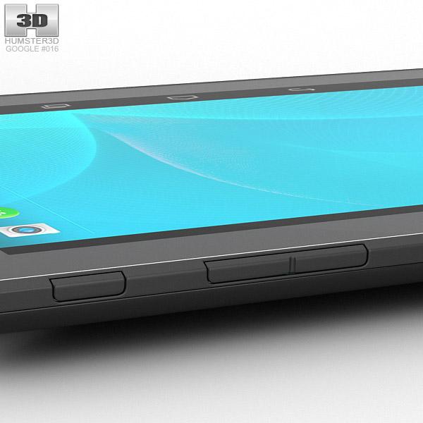 Google Project Tango Tablet White 3d Model Hum3d