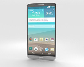 LG G3 Silk White 3D model
