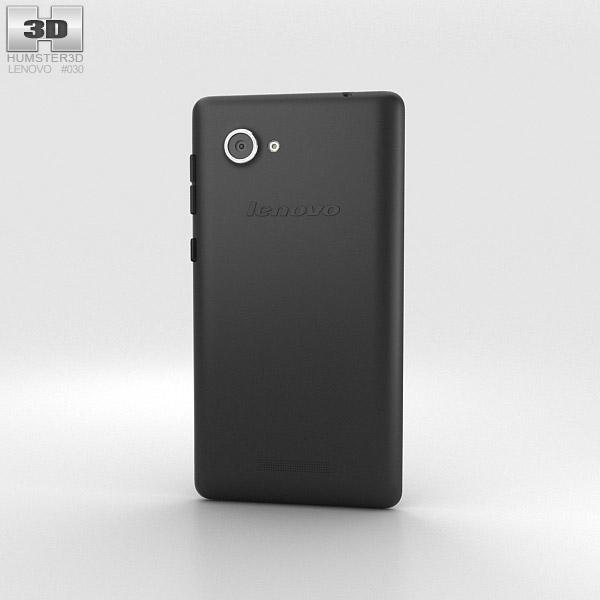 Lenovo A880 Black 3d model