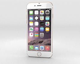 Apple iPhone 6 Gold 3D model