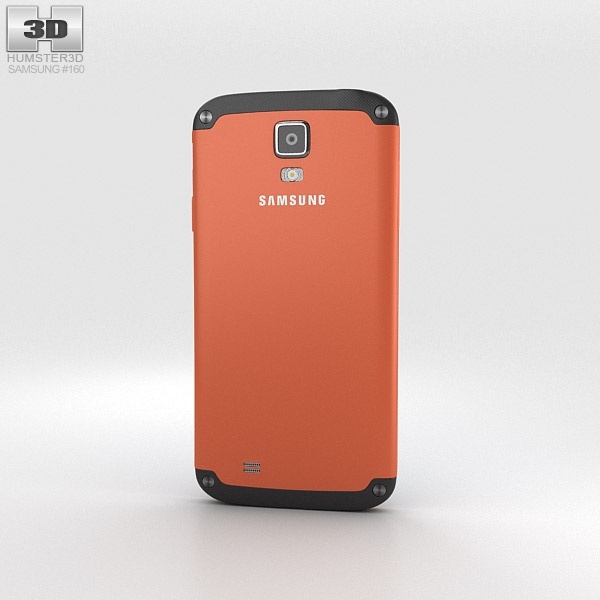Samsung Galaxy S4 Active Orange Flare 3d model