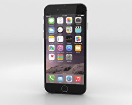Apple iPhone 6 Space Gray 3D model