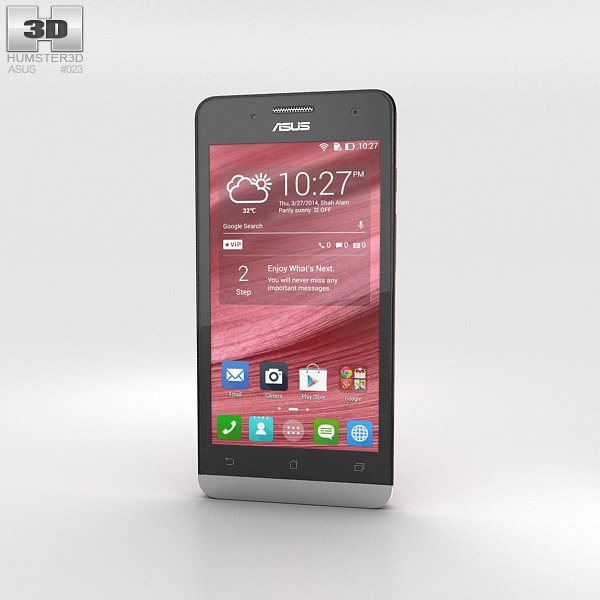 Asus Zenfone 5 Cherry Red 3d model