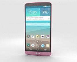LG G3 Burgundy Red 3D model