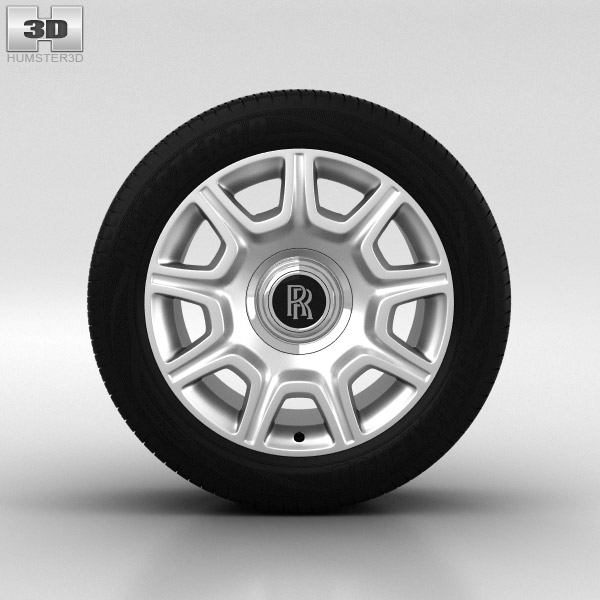 Rolls-Royce Ghost Wheel 19 inch 001 3d model