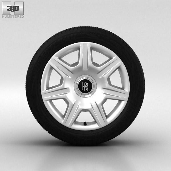 Rolls-Royce Ghost Wheel 20 inch 001 3d model