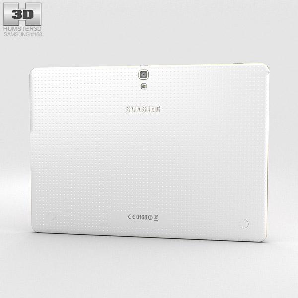 Samsung Galaxy Tab S 10.5-inch Dazzling White 3d model