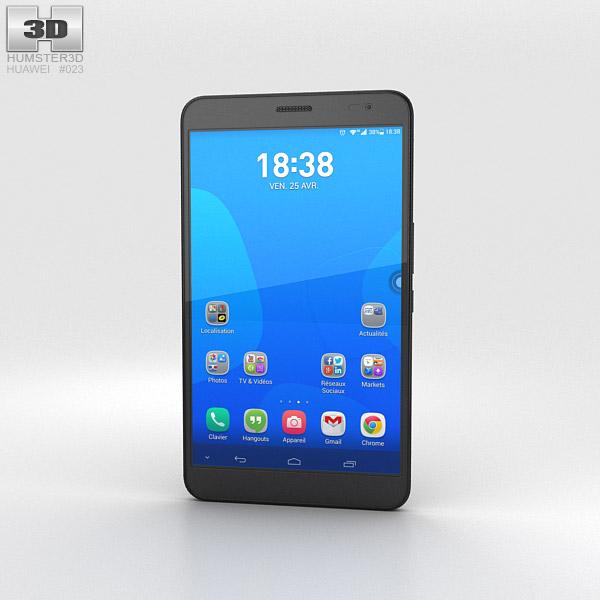 Huawei MediaPad X1 Diamond Black 3d model