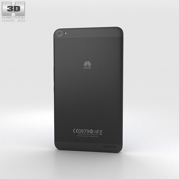 Huawei MediaPad X1 Diamond Black 3d model