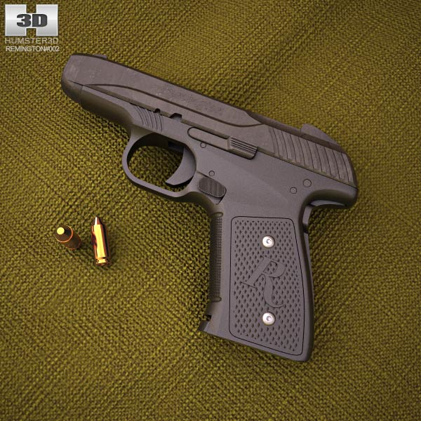 Remington R51 3d model