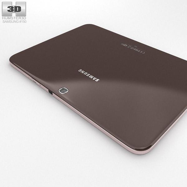 Samsung Galaxy Tab 3 101 Inch Gold Brown 3D Model